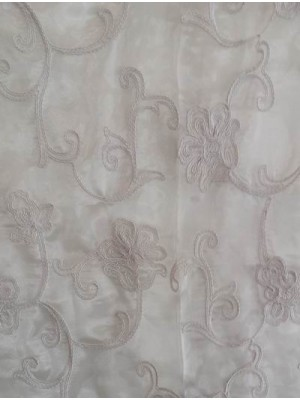 Organza Embroidered 300cm width - art: 5539