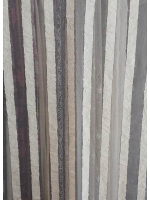 Fabric by the meter Organza with stripes - 270cm width - art: Emula