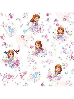 Princess Sofia- Fabric by the meter - 140cm width cotton