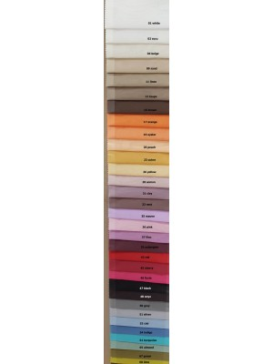 Voil Fabric by the meter 300cm wdth with lead band - Marley
