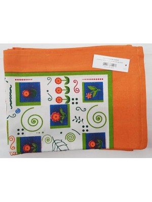 Kitchen Napkins 100% Cotton size 60X40cm - Pack of 12 pcs - art: Garden