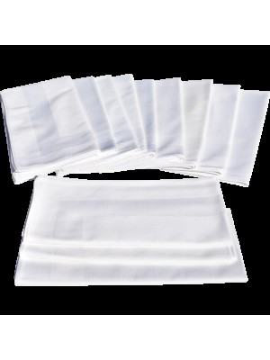 Dinner Napkins 100% Cotton 54cmX54cm - Set 12 pcs