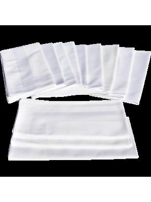 Dinner Napkins 100% Cotton 54cmX54cm - Set 12 pcs