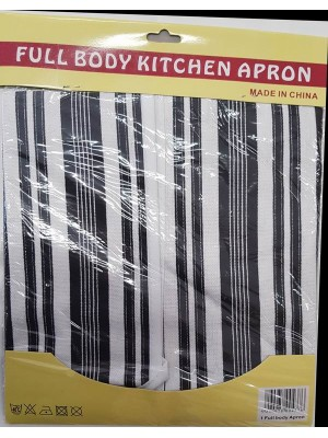 Full Body Appron  - Washable - art: Stripes