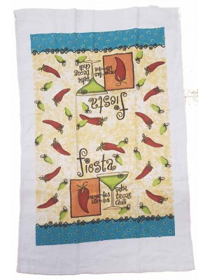 Terry Kitchen Towels 90gsm Size:45X70cm Pack of 12pcs art: Chili