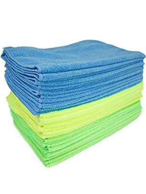Glass Cleaning Microfiber Cloth - 6pcs minimum purchase