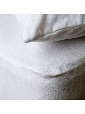 Pillow Cover Waterproof Protector - Terry/PVC 50X70cm 1pc