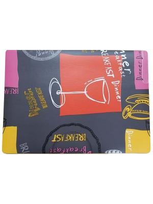 Placemat - Size: 30cm X 43cm - PVC