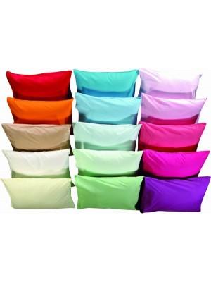 Set of Pillow Cases - 2pcs size 50X70cm - Plain Colors - 100% Cotton
