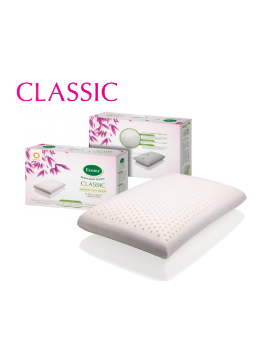 Classic Latex Pillow- 41cm X 66cm X 13cm