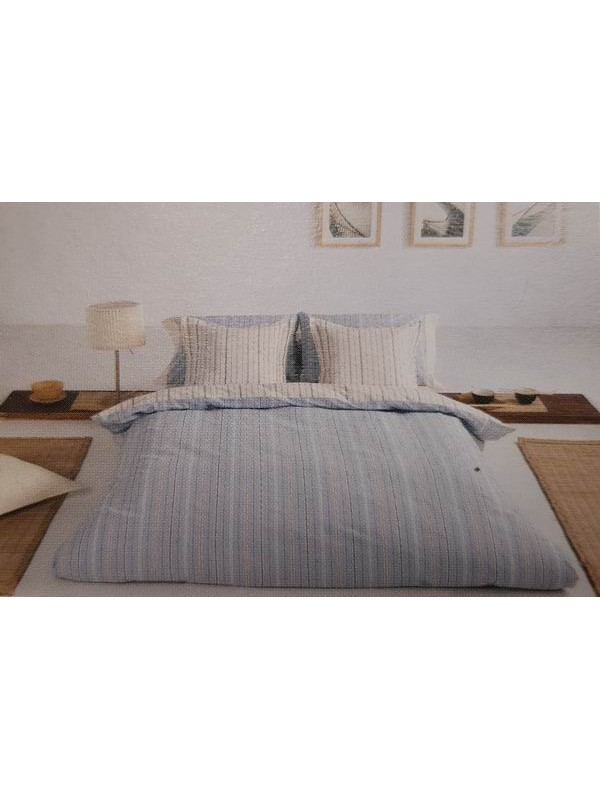 Quilt Cover With Pillowcases - 100% Cotton 200 Thread Count Percale - art: SENA