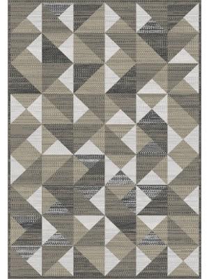Artificial Silk Rug - Kilim style Art:84196