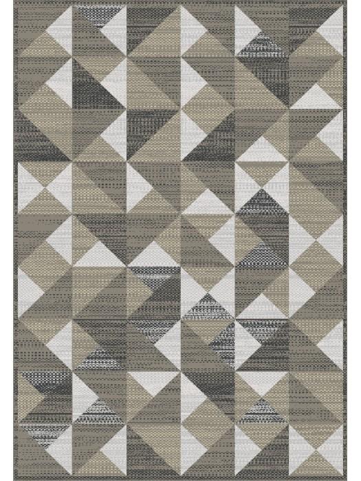 Artificial Silk Rug - Kilim style Art:84196 Size:185X275cm