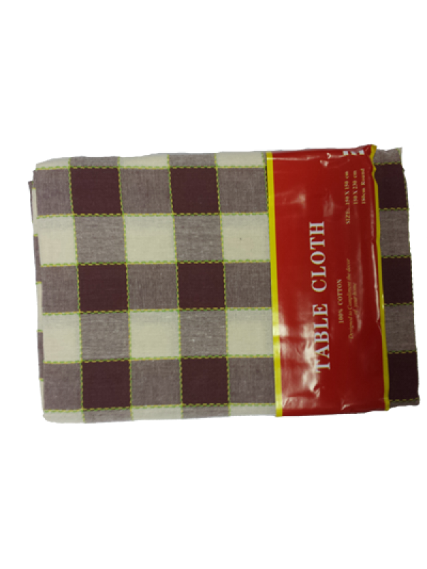 Table Cloth Cheks - Round Table 180cm