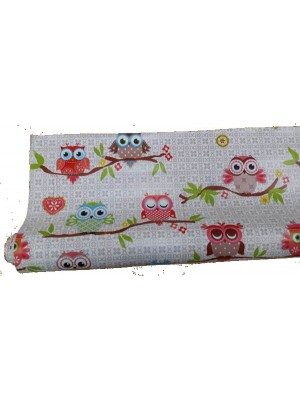 Table Cloth PVC for outdoors OWL - Purchase by running meter - width 140cm