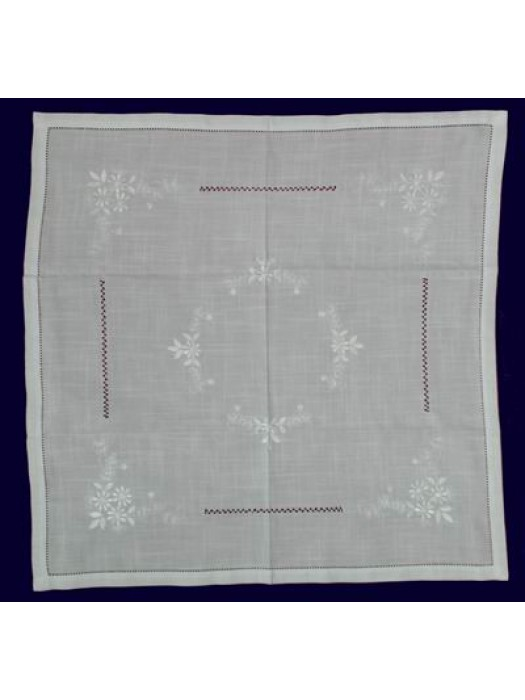 Table Cloth Linen With Embroidery - 160cm X 230cm art: 004 Select Size