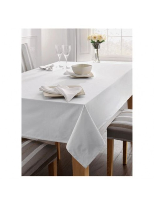 Cotton table cloth - Drill - select size and color