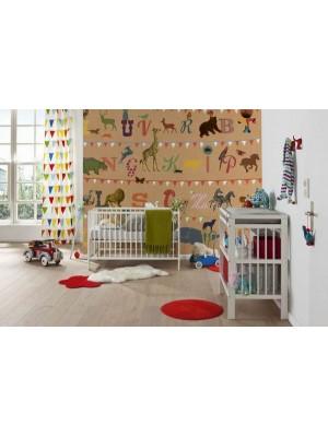 "Wallpaper - ""T wie Tiger"" - Size: 250X250cm"