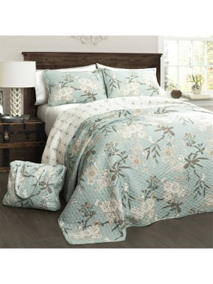 Summer Bedspread Double Face - Select Size (Pillowcases are not included)
