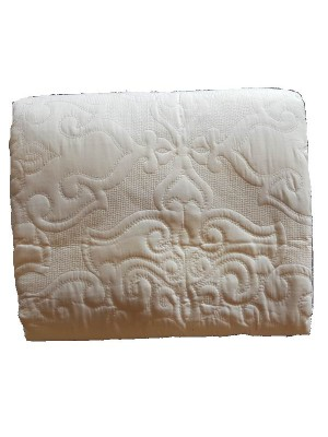 Summer Bedspread double face - art: emboss ivory - select size