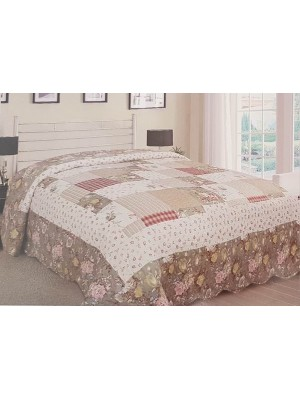 Summer Bedspread double face - art: romantic - select size