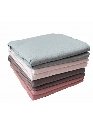 Summer Bedspread Plain Colors - Select size and color
