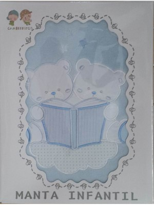Baby Blanket For Cot Bed Size: 80X110cm