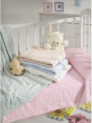 Baby Blanket For Cot Bed - Light Weight