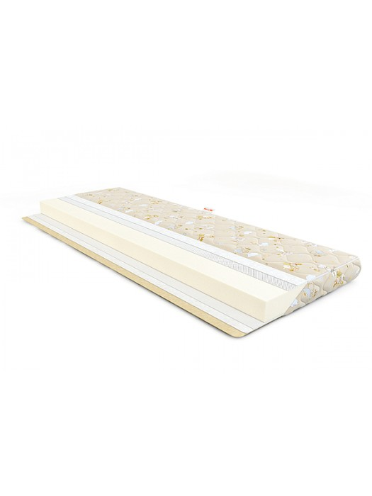 Baby Mattress Springless - Washable Cover with Zipper Size: 60X120cm Height: 9cm