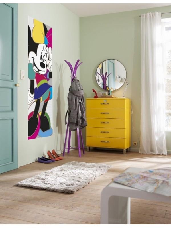 Wallpaper - Minnie Colorful - Size: 92X220cm