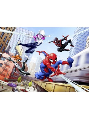 Wallpaper - Spider-Man Friendly Neighbours- Size: 254 X 184cm