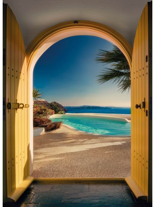 Wallpaper Santorini- Size: 184 X 254cm