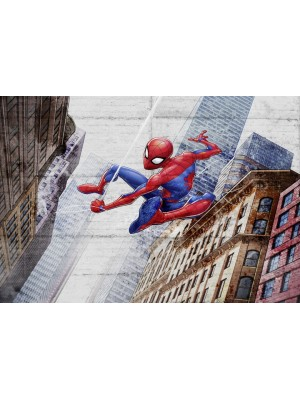 Wallpaper - Spiderman New Concrete- Size: 368 X 254cm