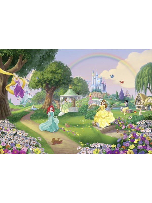 Wallpaper - Princess Rainbow - Size 368X254cm