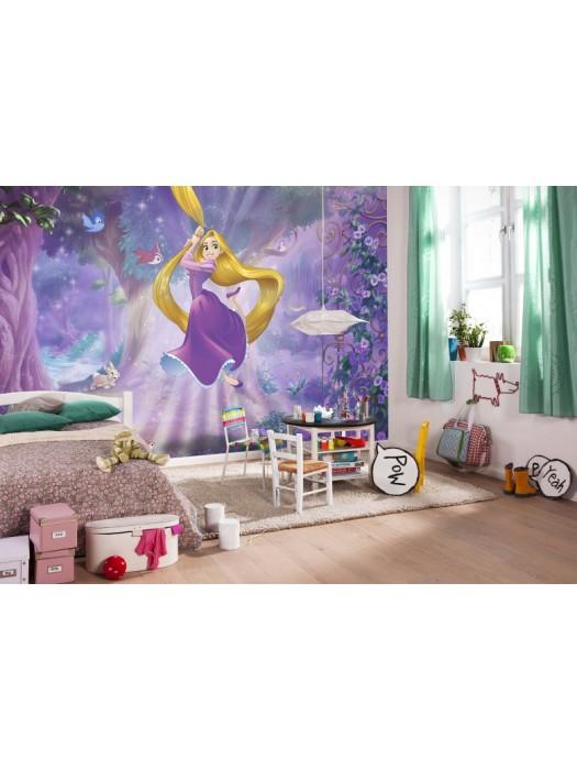 Wallpaper - Rapunzel - Size 368X254cm