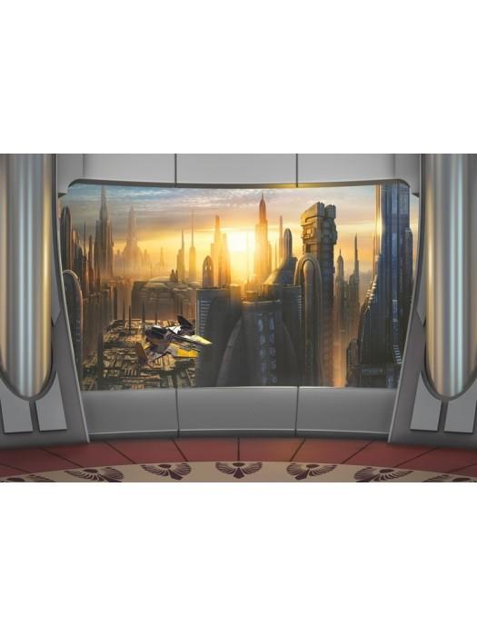 Star Wars Coruscant View- Size: 368 X 254 cm