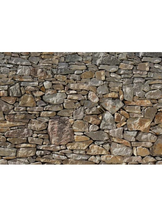 Wallpaper - Stone Wall - Size: 368 X 254cm