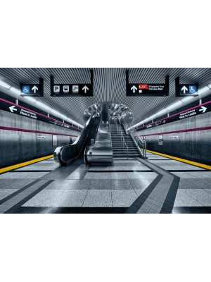 Subway- Size: 368 X 254 cm