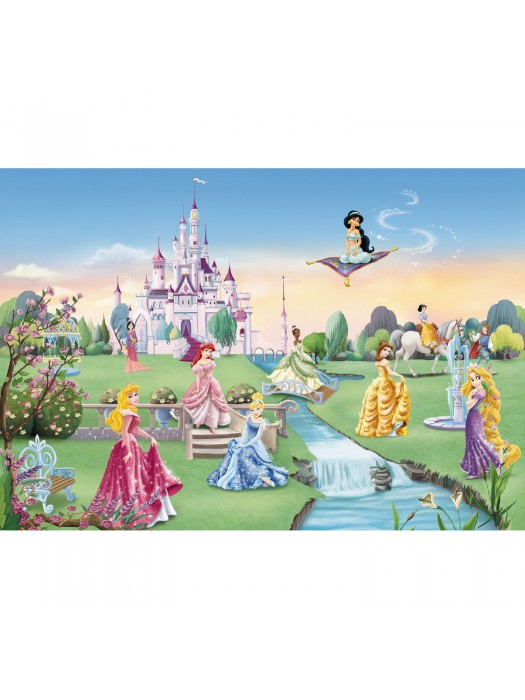 Wallpaper - Princess Castle - Size: 368 X 254cm