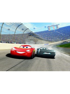 Wallpaper - Cars3 Curve- Size: 368 X 254cm