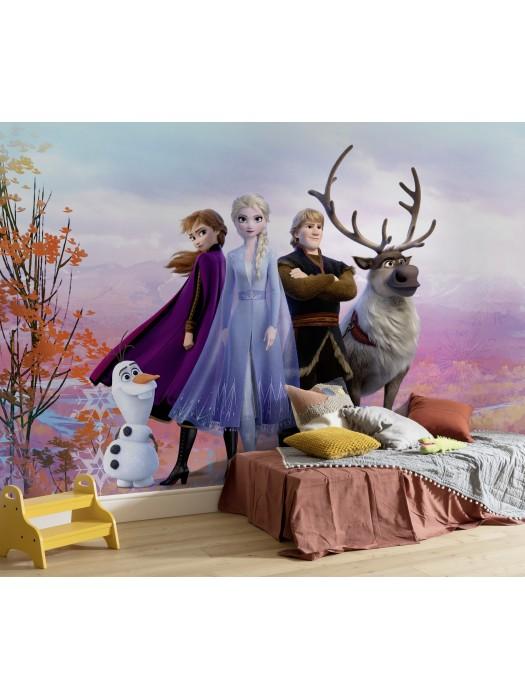 Wallpaper - Frozen Iconic - Size: 368 X 254cm