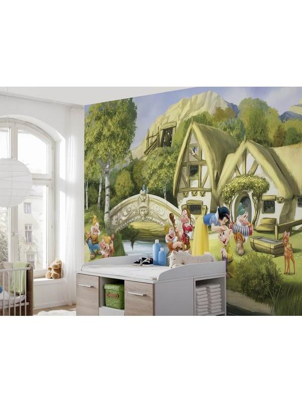Wallpaper - Snowwhite - Size: 368 X 254cm