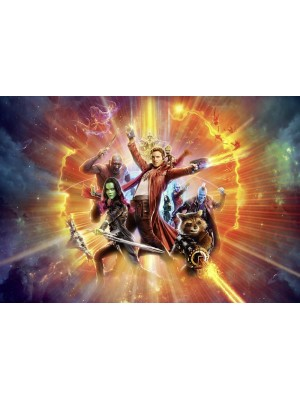 Wallpaper - Guardians of the Galaxy Vol2 - Size: 368 X 254cm