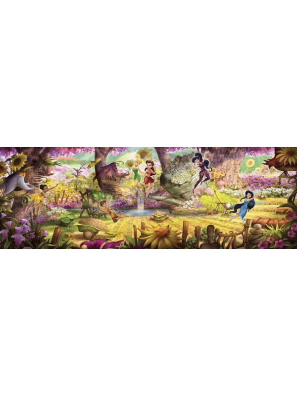 Wallpaper Fairies Forest - Size:368X127cm