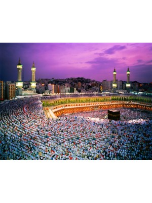 Wallpaper - Mekka  Size: 388 X 270 cm