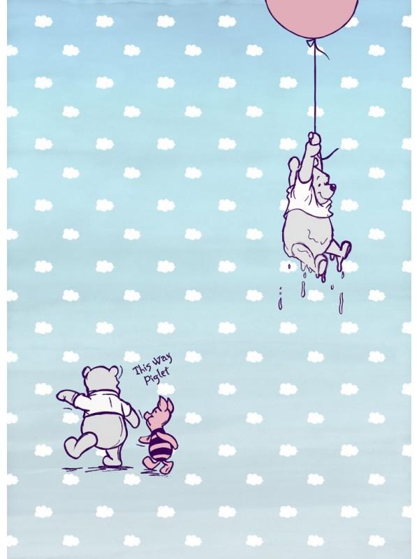 Wallpaper Winney Pooh Piglet - Size:184X254cm