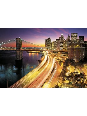Wallpaper - NYC Lights - Size: 368 X 254