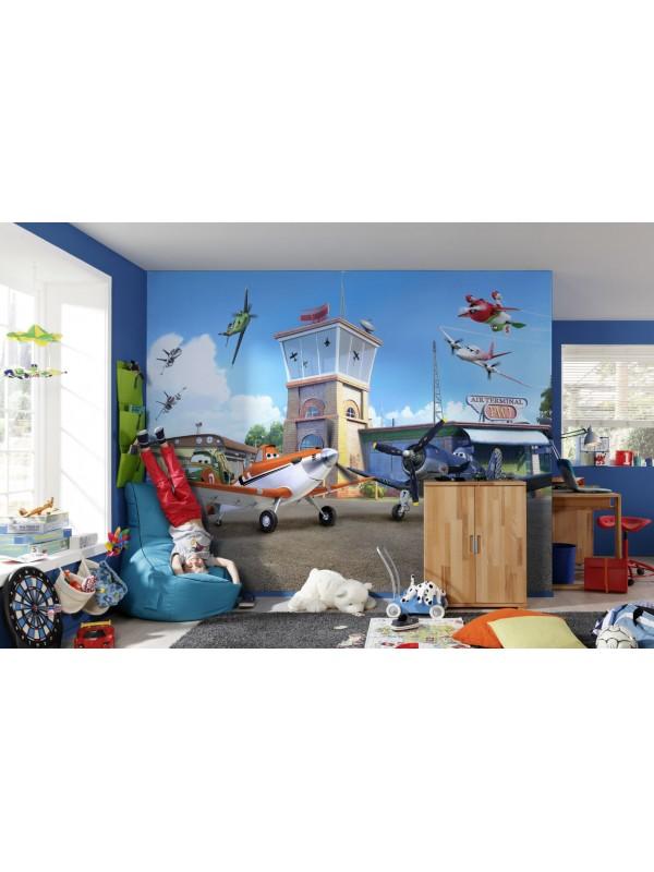 Wallpaper - Dusty Planes - Size: 368 X 254cm