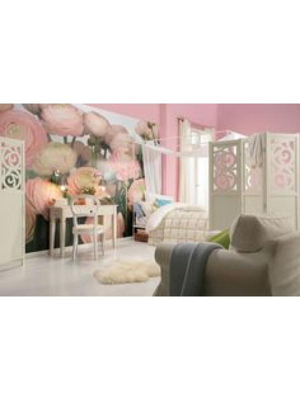 Wallpaper - Gentle Rose - Size: 368 X 254cm