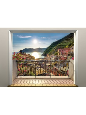 Vernazza Italy- Size: 368 X 254 cm
